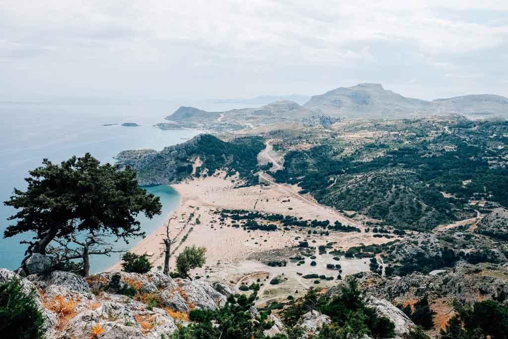 Ilha de Rodes Tsambika