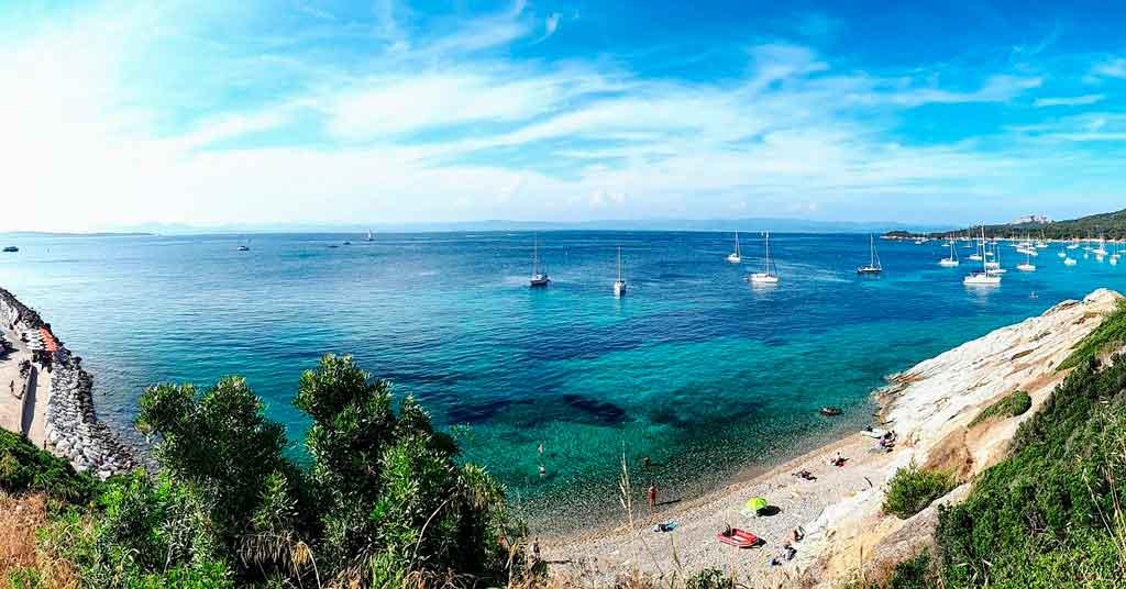 Ilhas do Mediterrâneo porquerolles
