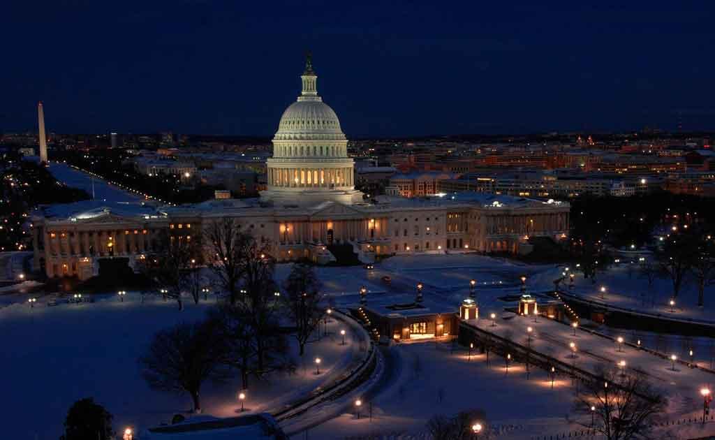 inverno nos Estados Unidos