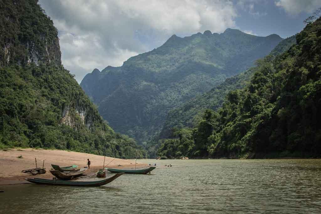 Laos onde fica