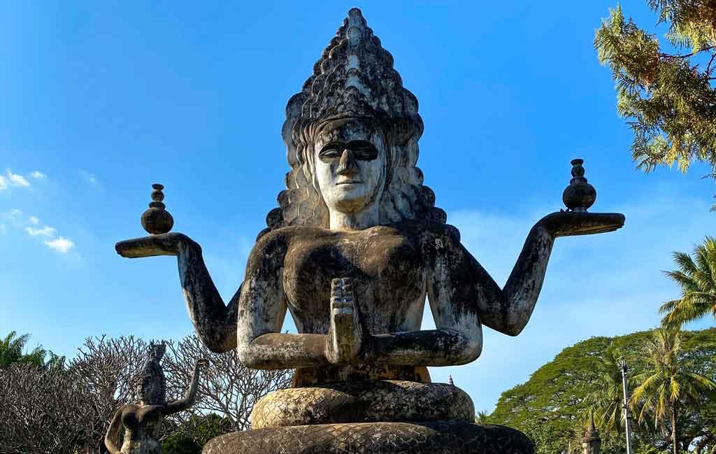 Laos templos