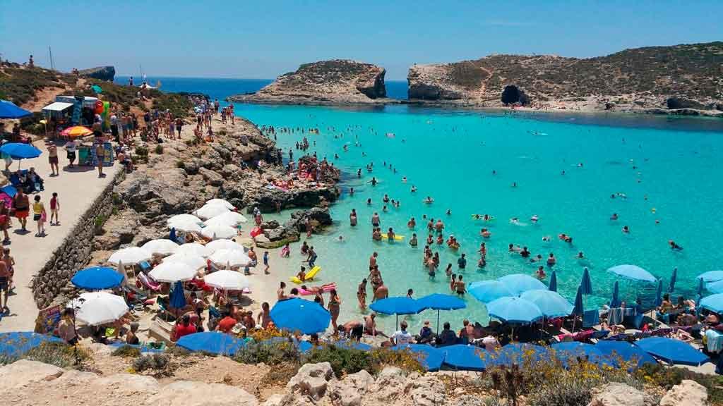 O que fazer em Malta ilha comino