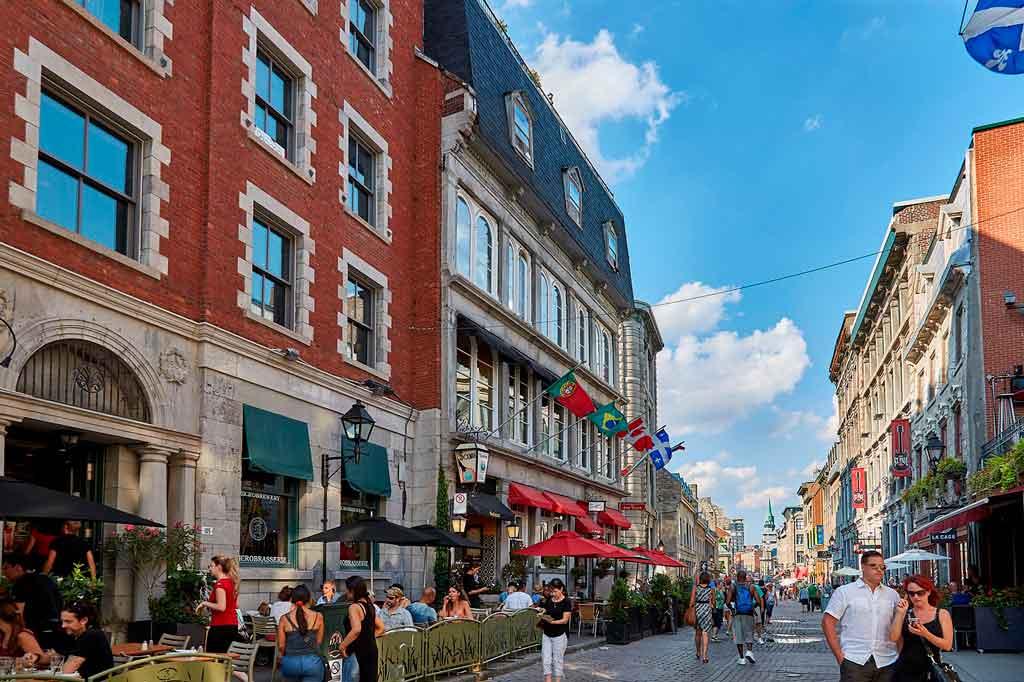 O que fazer em Montreal ruas