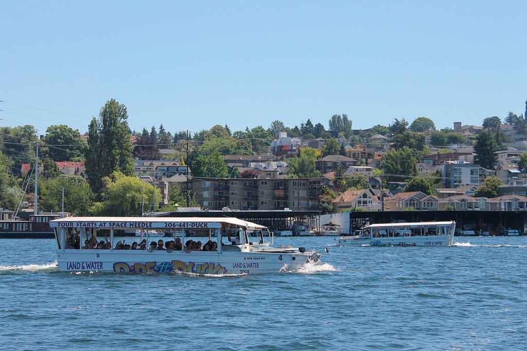 O que fazer em Seattle Lake union