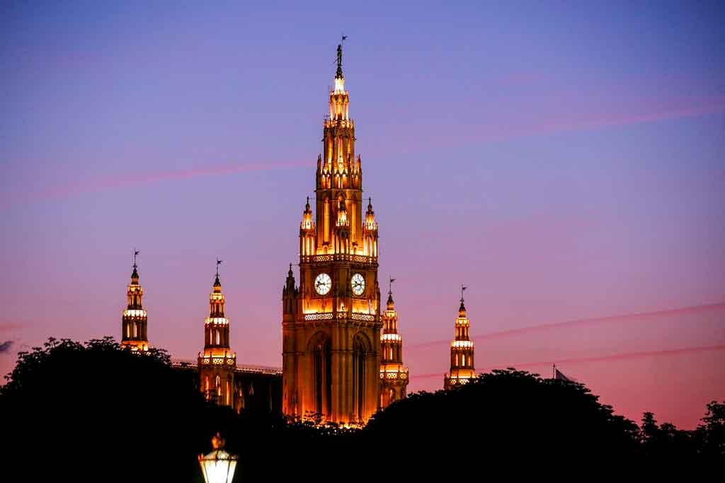 O que fazer em Viena Rathaus
