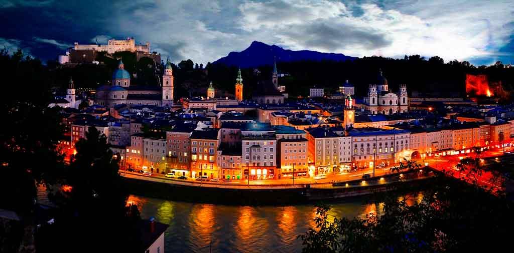 O que fazer na Áustria Salzburg
