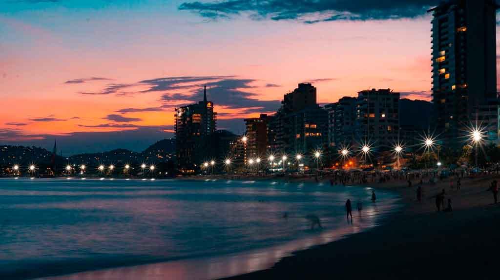 Viagem para o México Acapulco