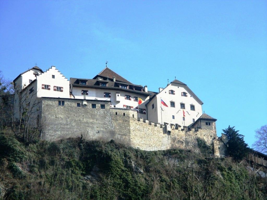 O que fazer em Liechtenstein castelo de vaduz