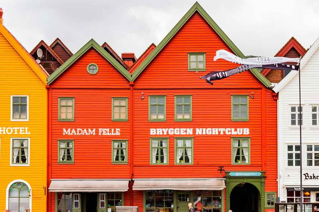 Bergen Noruega Bryggen