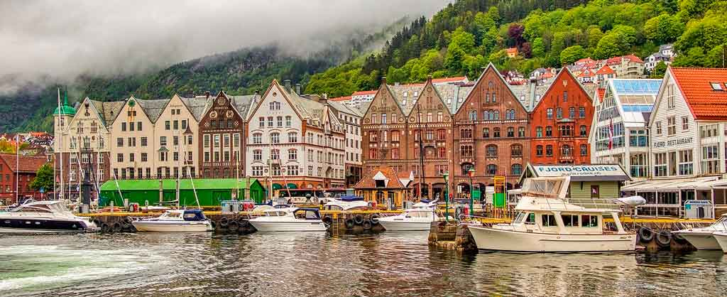 Bergen Noruega como ir