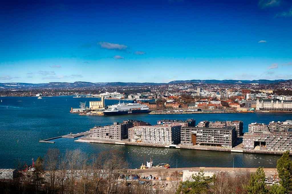 Capital da Noruega onde fica