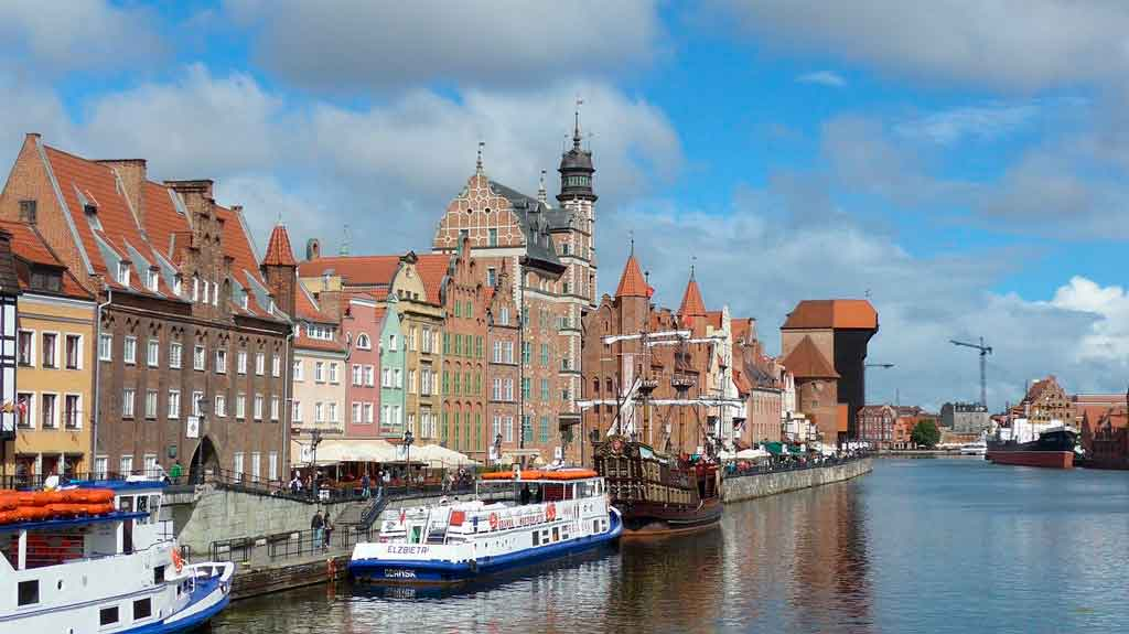 Cidades da Polonia Gdansk