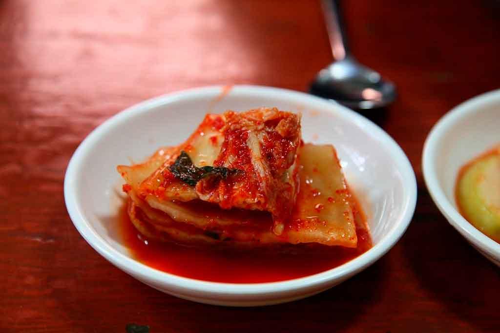 Coreia do Sul comidas