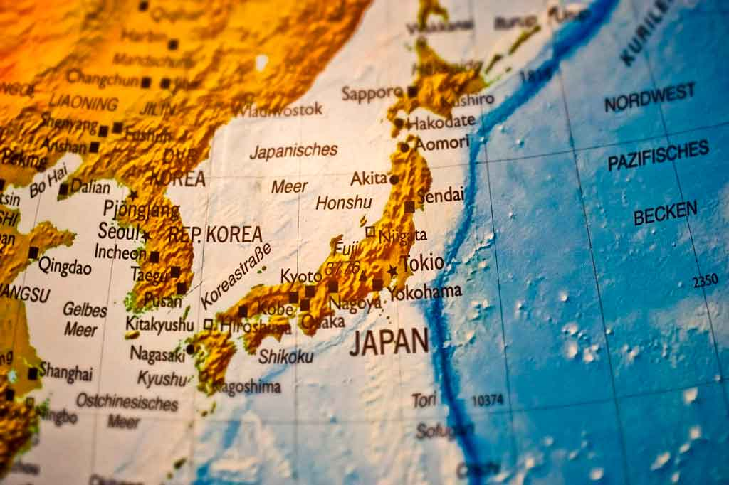 Coreia do Sul onde fica