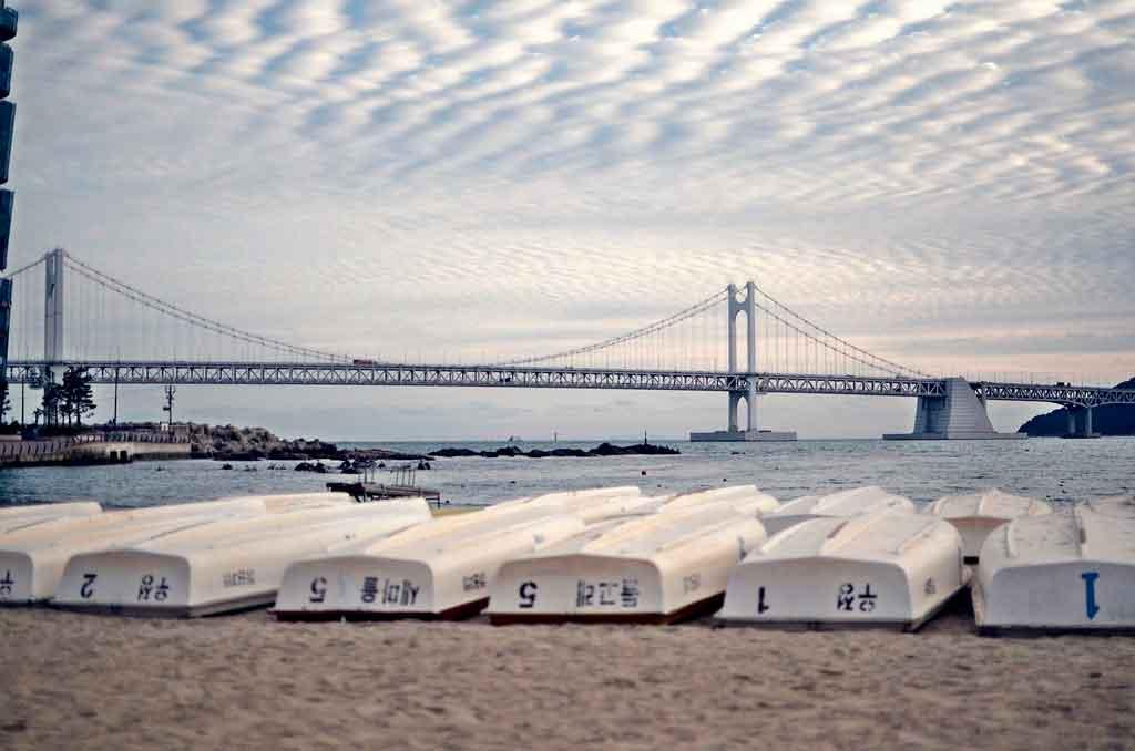 Coreia do Sul praias