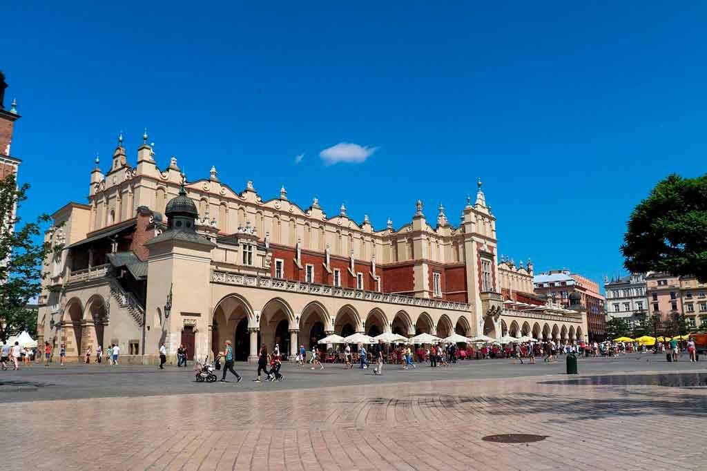 Cracóvia Polônia centro histórico