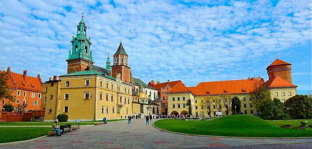 Cracóvia Polônia onde fica
