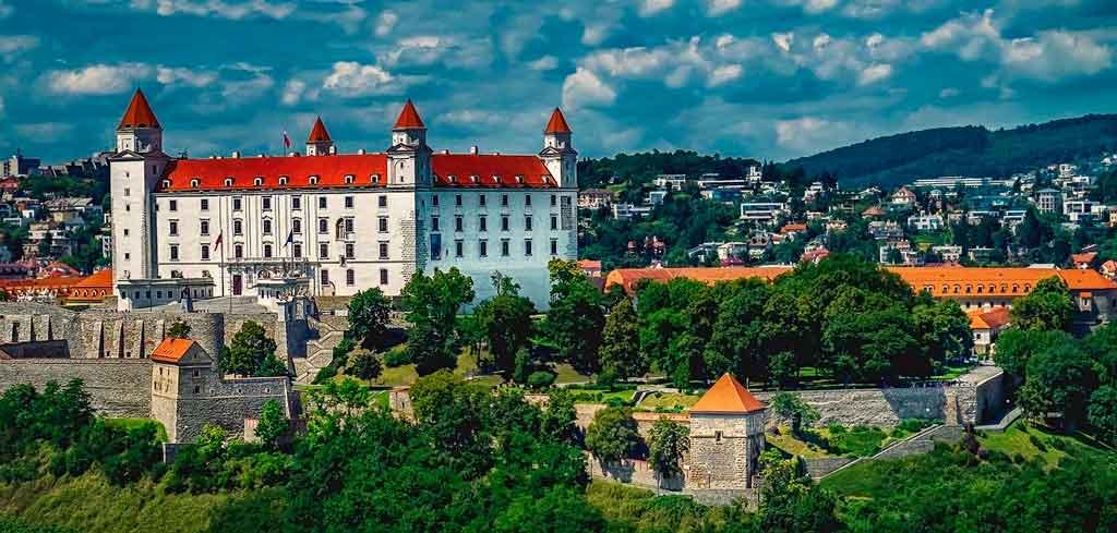 Eslováquia Mapa onde se localiza
