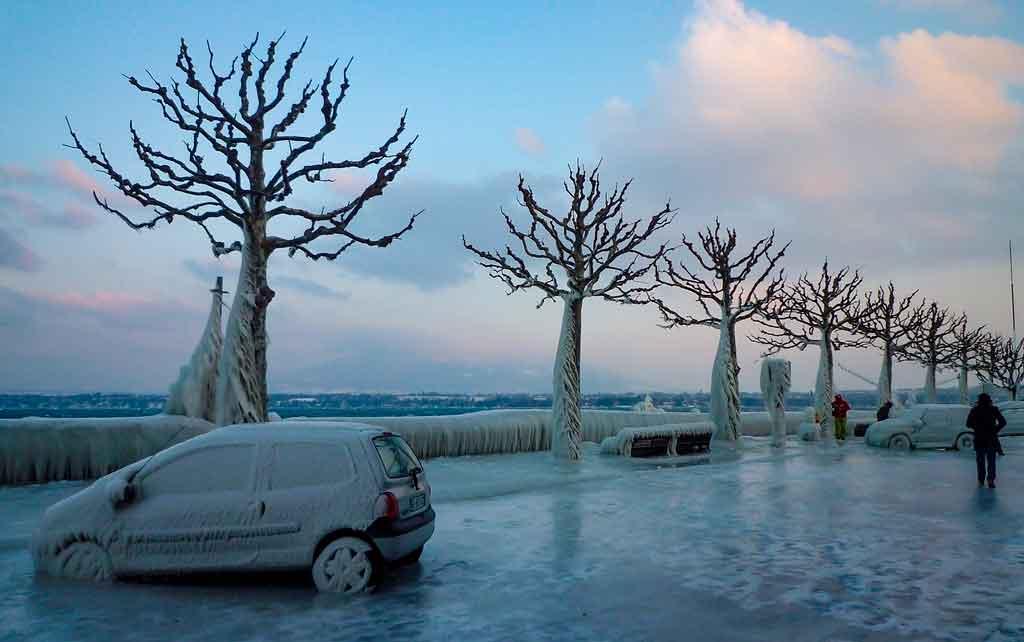 Genebra, Suíça Inverno
