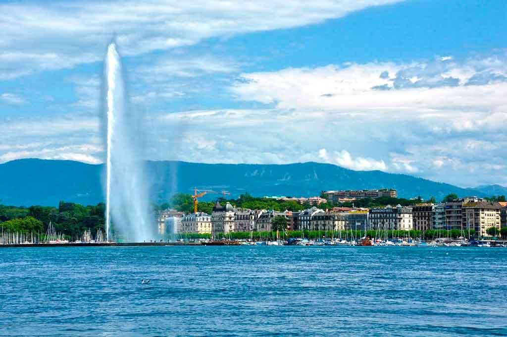 Genebra, Suíça onde fica