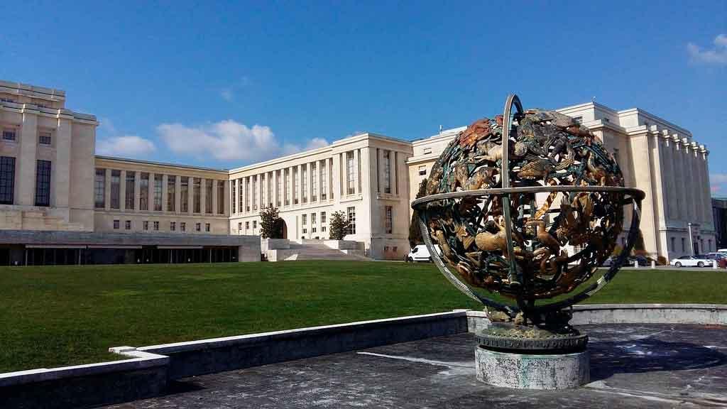 Genebra, Suíça Palácio das Nações Unidas