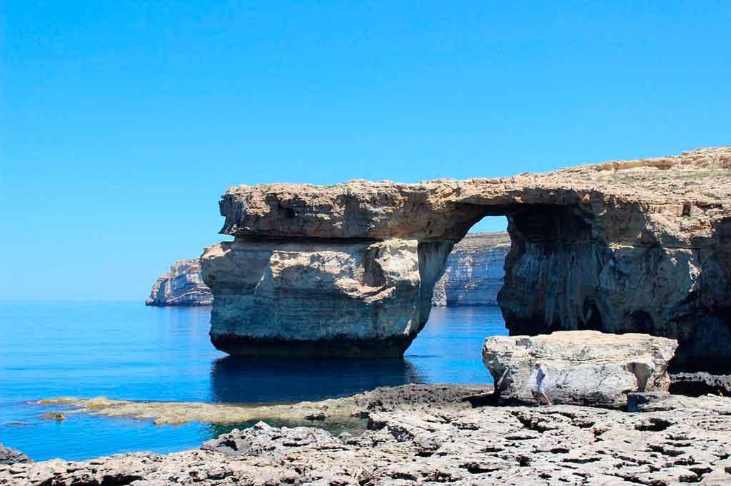 Ilha de Malta Dwejra Bay