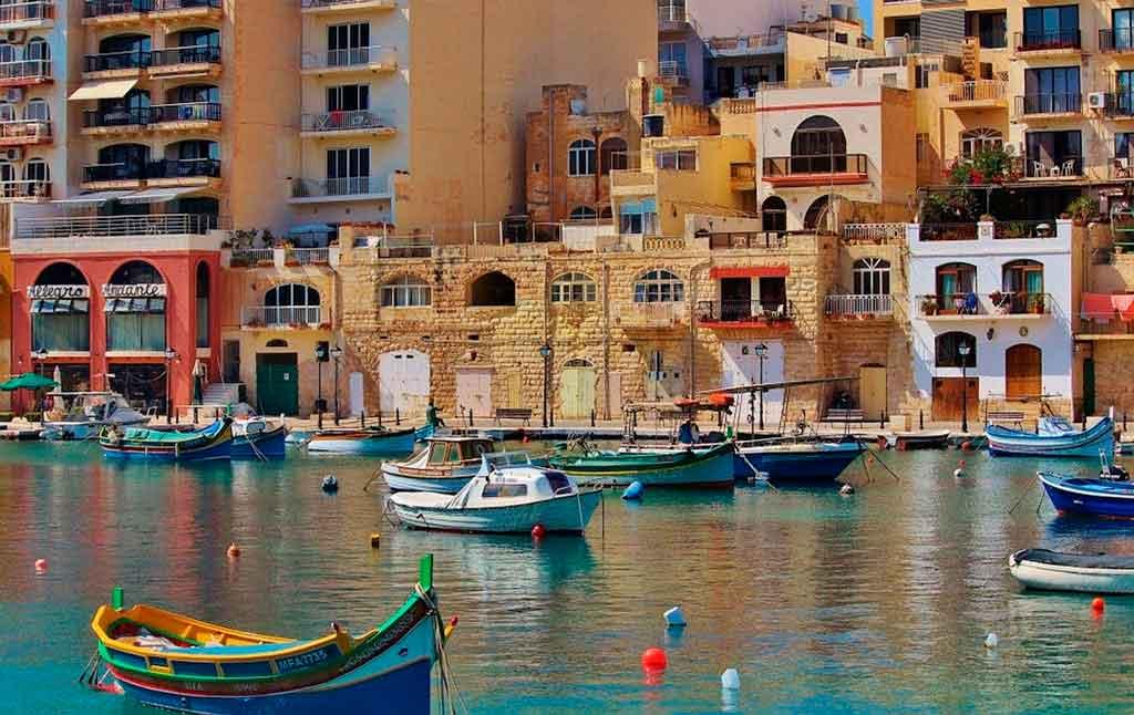 Ilha de Malta intercâmbio