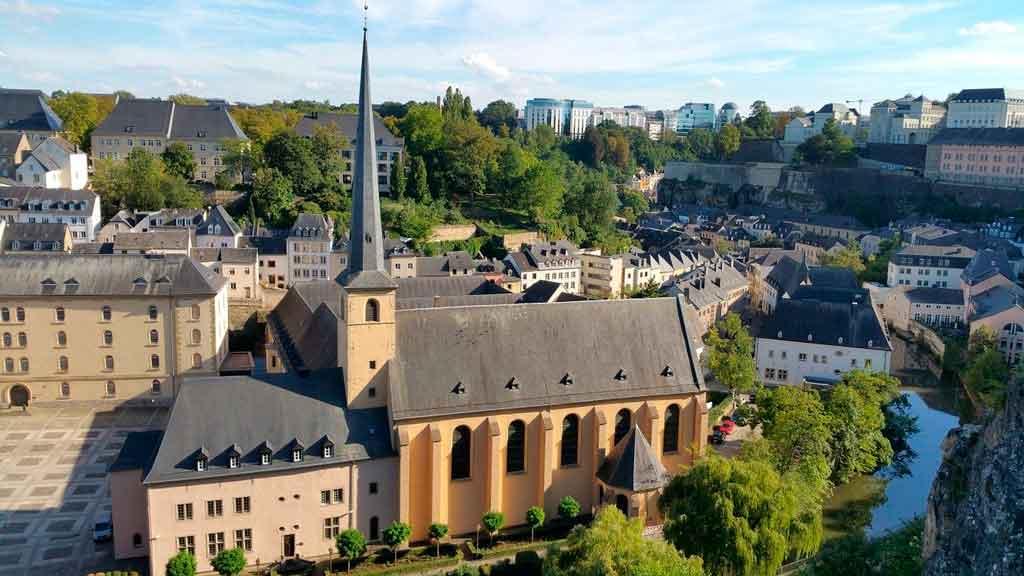 Luxemburgo Europa Capa