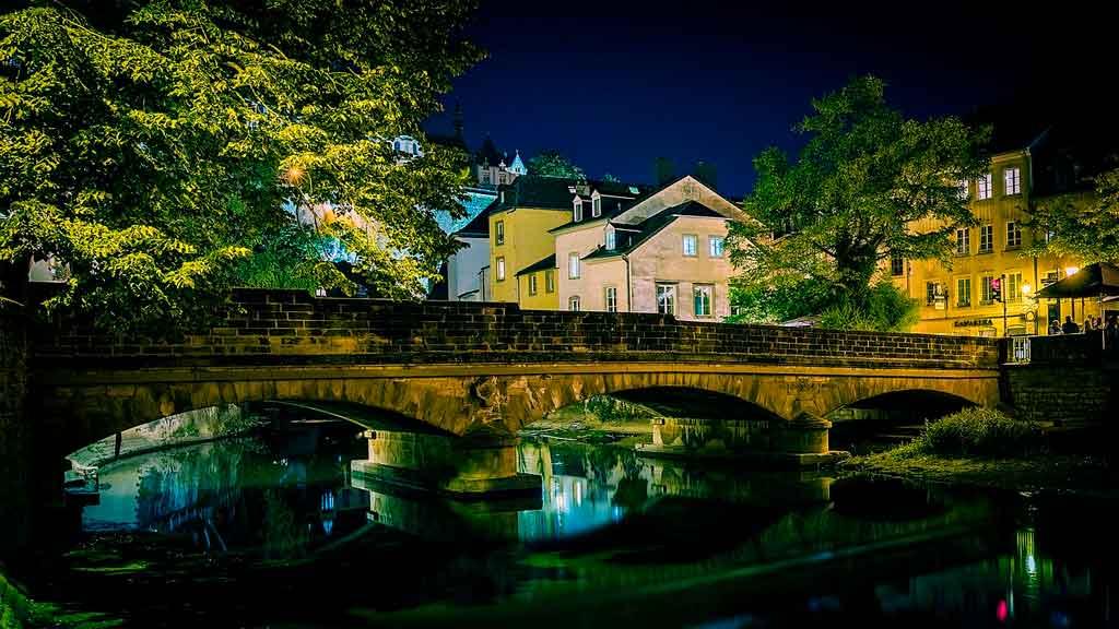 Luxemburgo Europa onde fica