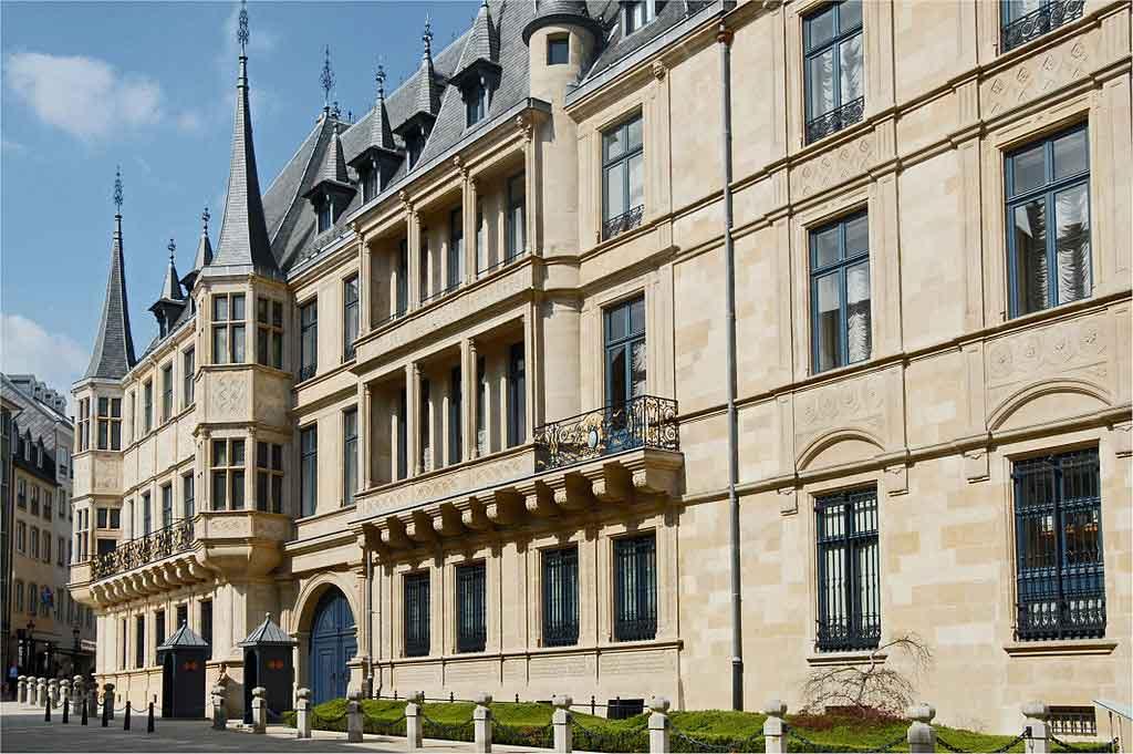 Luxemburgo Europa Palácio Grão-Ducal