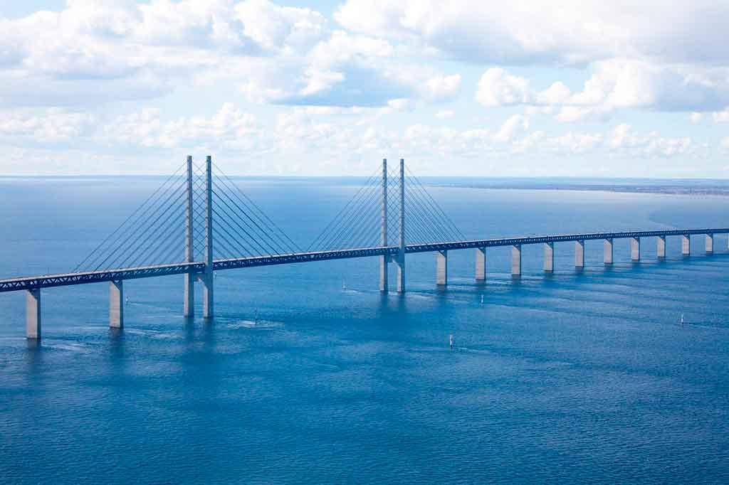 Malmo Suécia ponte de oresund