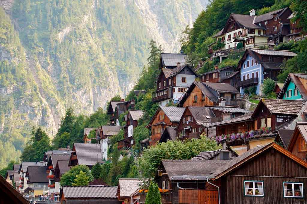 Hallstatt, Áustria onde fica