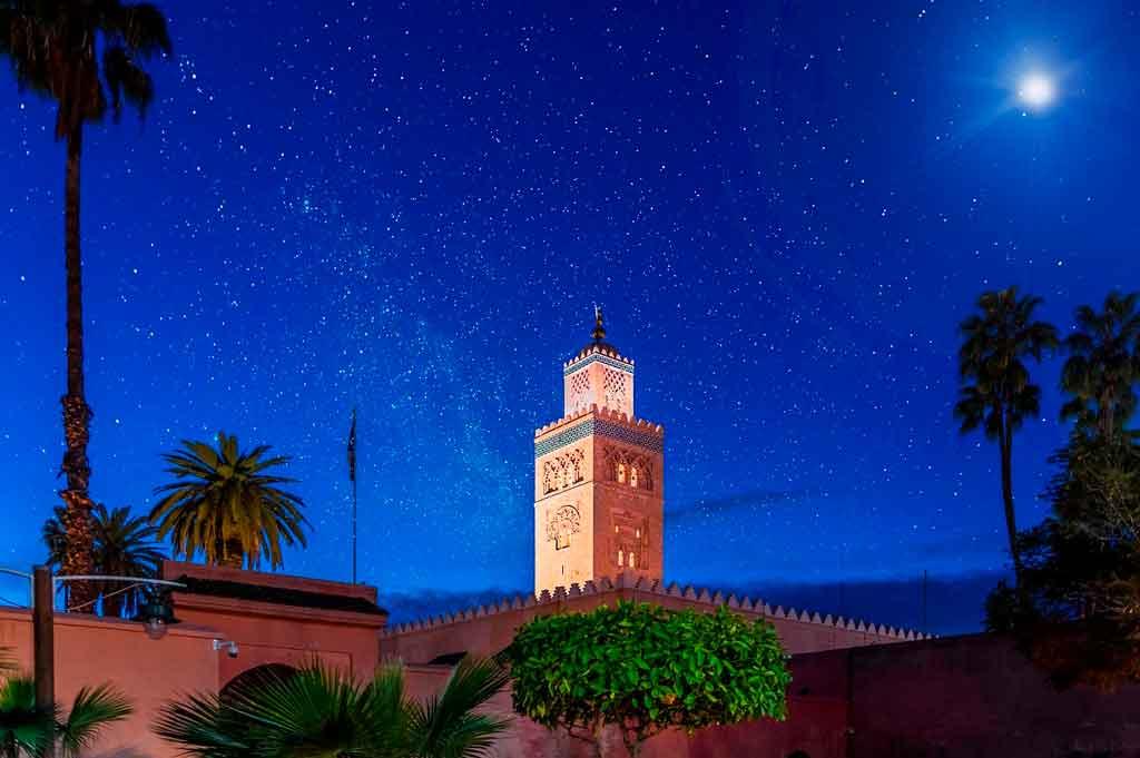 O que fazer em marrakech a noite