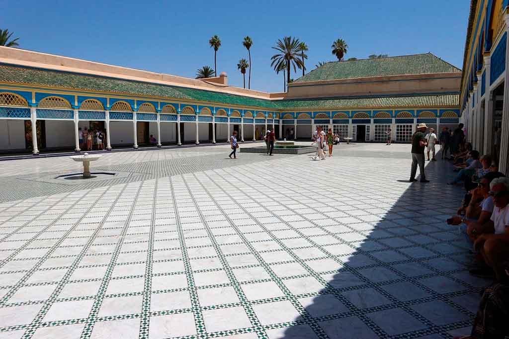 O que fazer em marrakech palácios