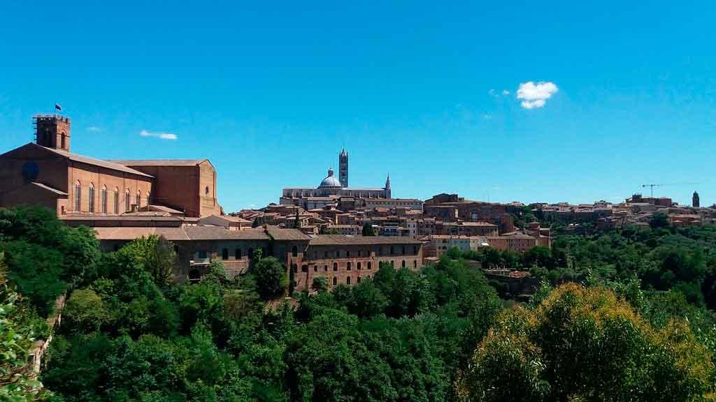 O que fazer em Siena Igreja cateriniana de san domenico