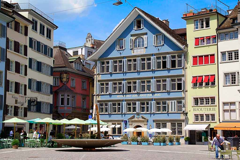 O que fazer em Zurique centro histórico