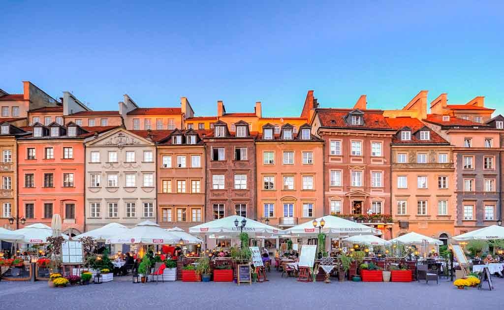 Onde fica Varsóvia capa