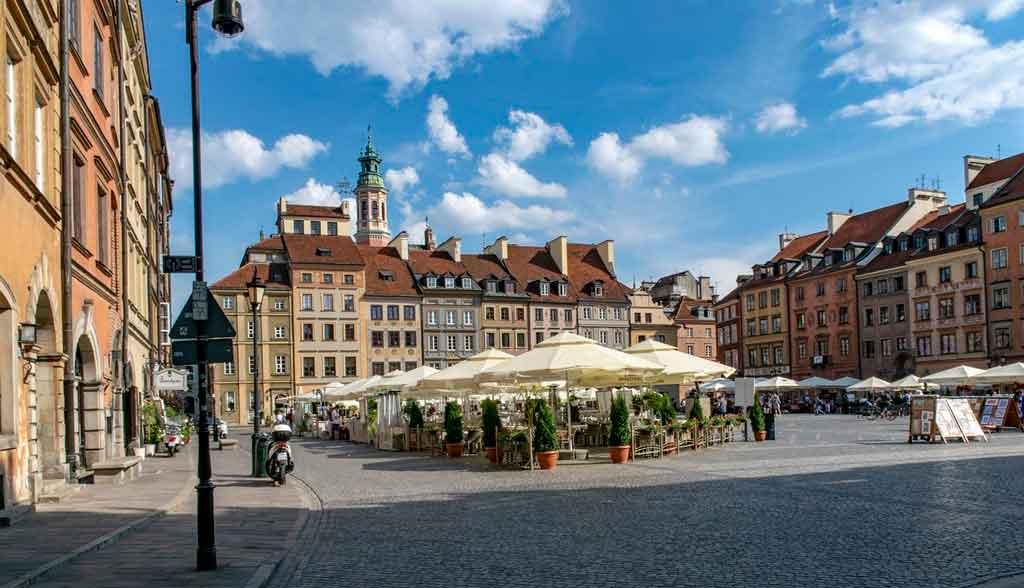 Onde fica Varsóvia história
