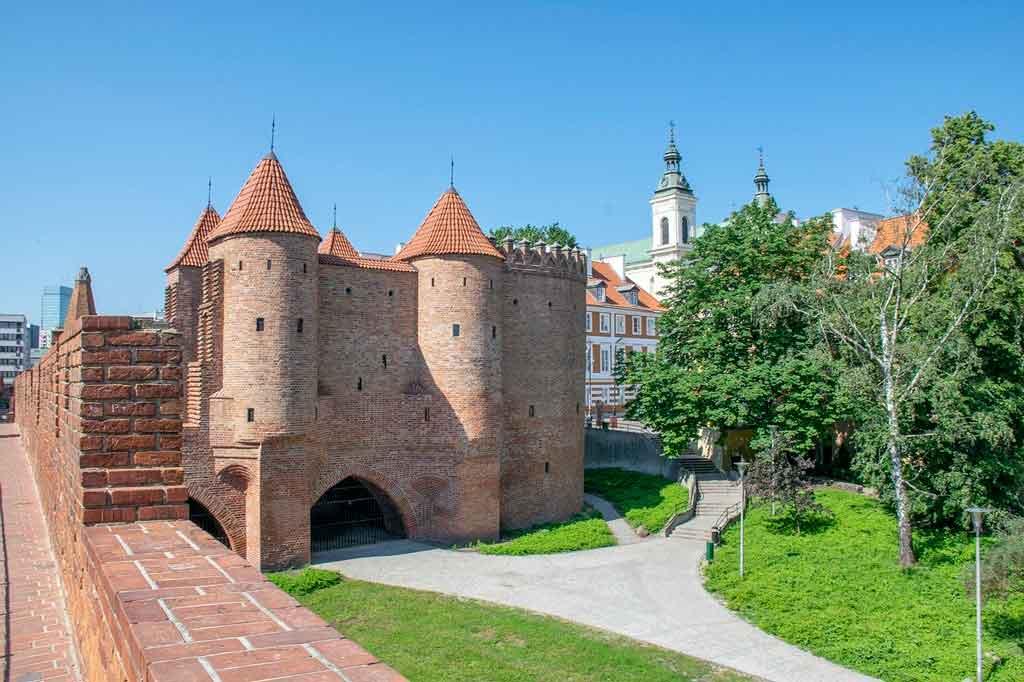 Onde fica Varsóvia muralha