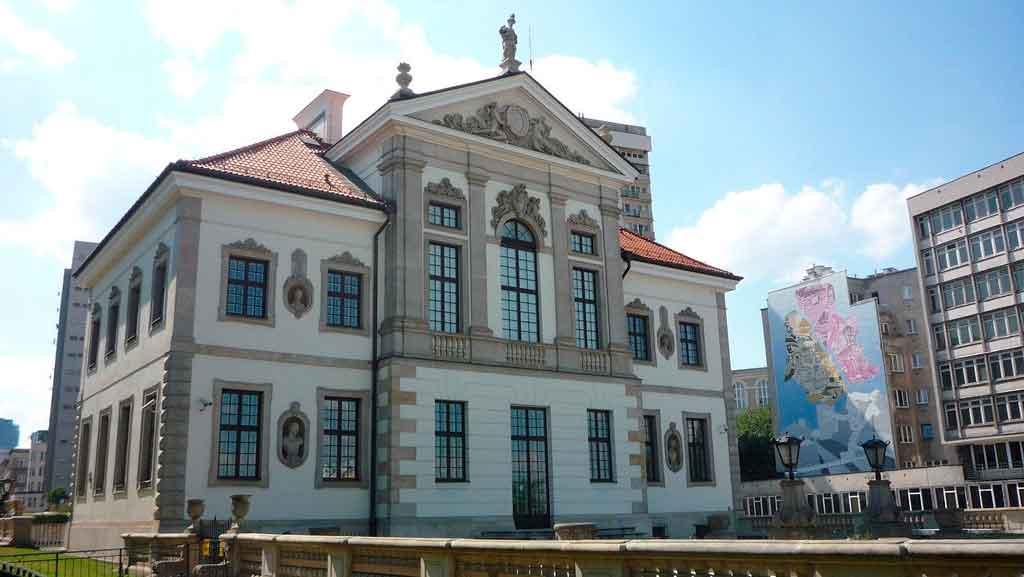 Onde fica Varsóvia museu Frederic CHopin