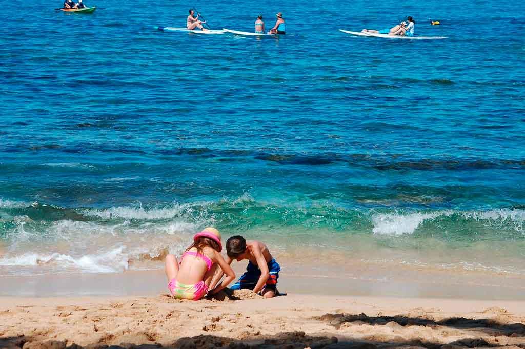 Praias dos Estados Unidos Coopers Beach