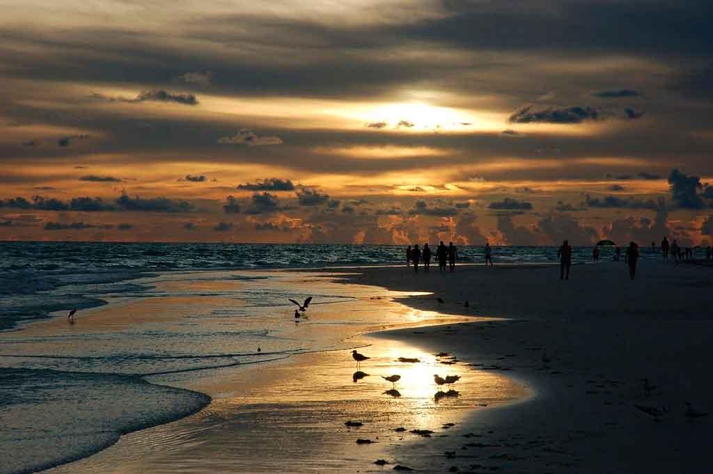 Praias dos Estados Unidos Siesta Beach