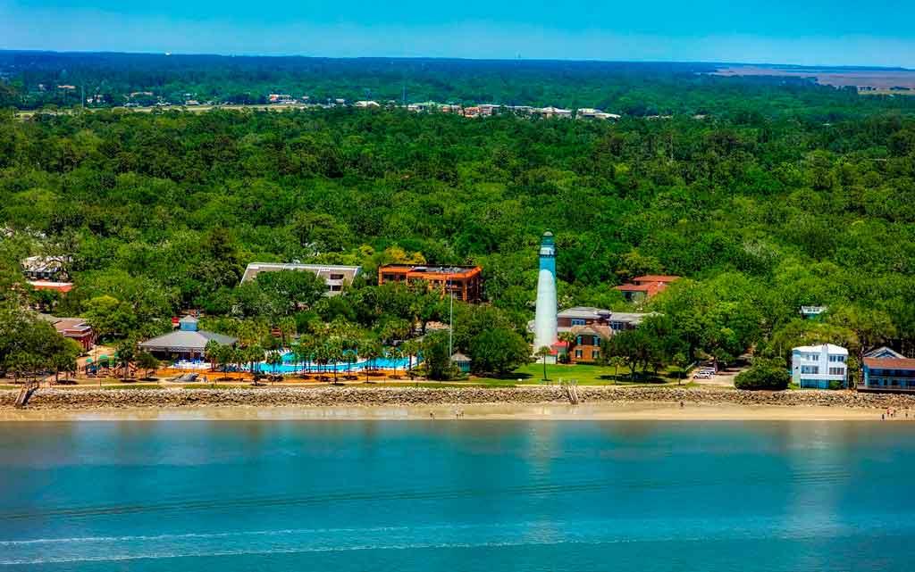 Praias dos Estados Unidos St George Island
