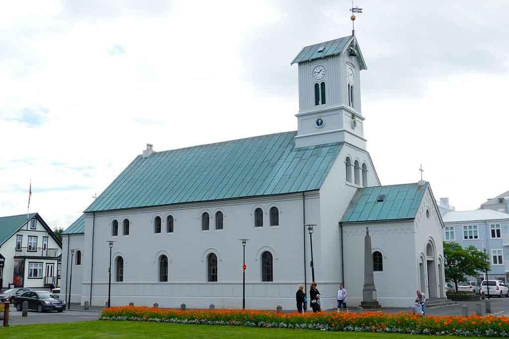 reykjavik Islândia Catedral Domkirkjan