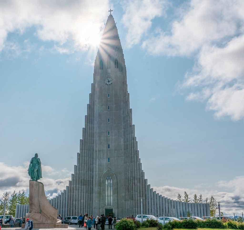 reykjavik Islândia igreja Hallgrimskirkja