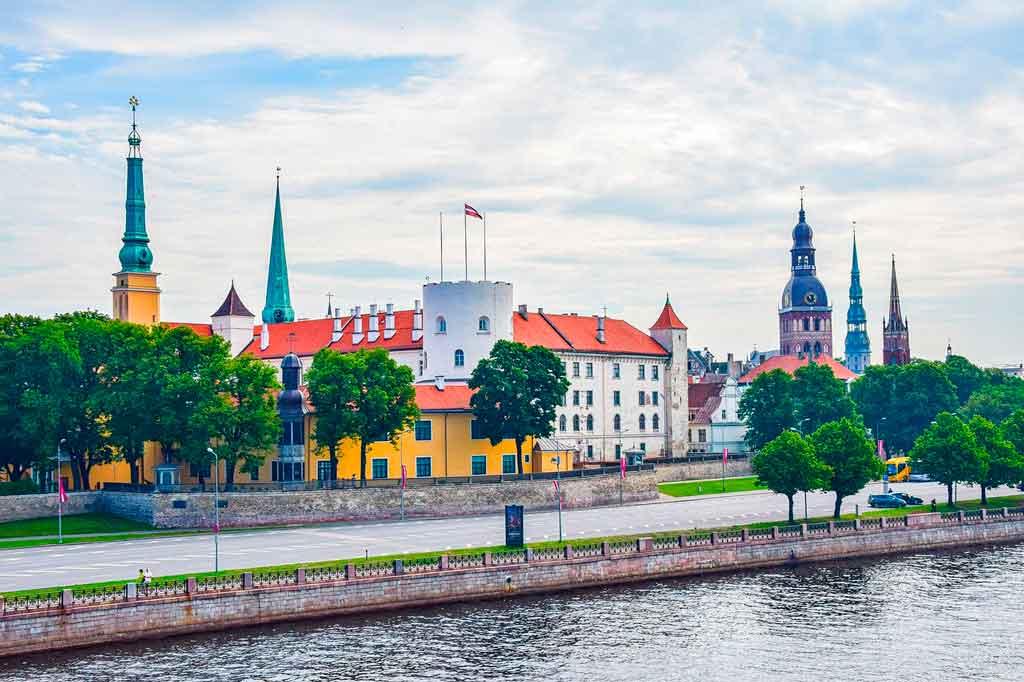 Riga, Letônia castelo