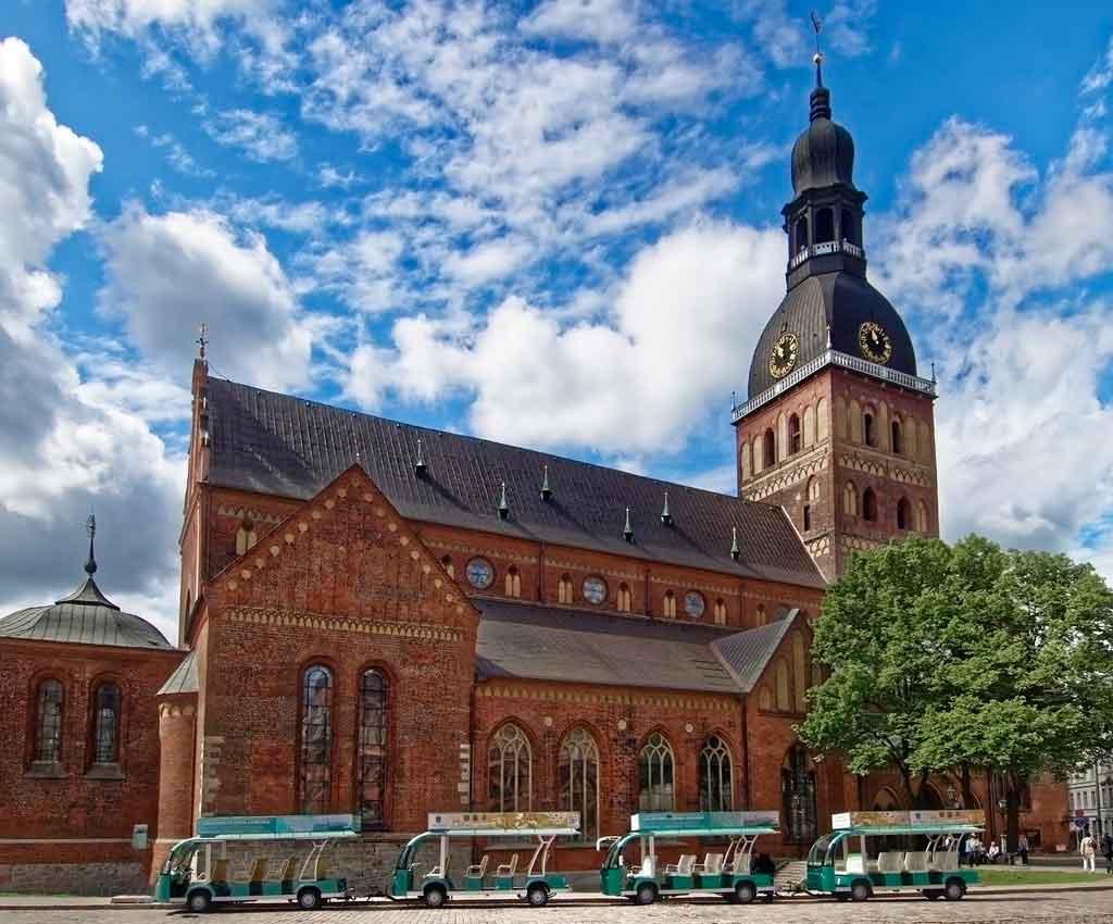 Riga, Letônia catedrais