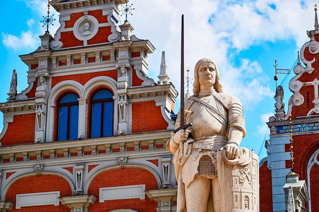 Riga, Letônia irmandade cabeças negras