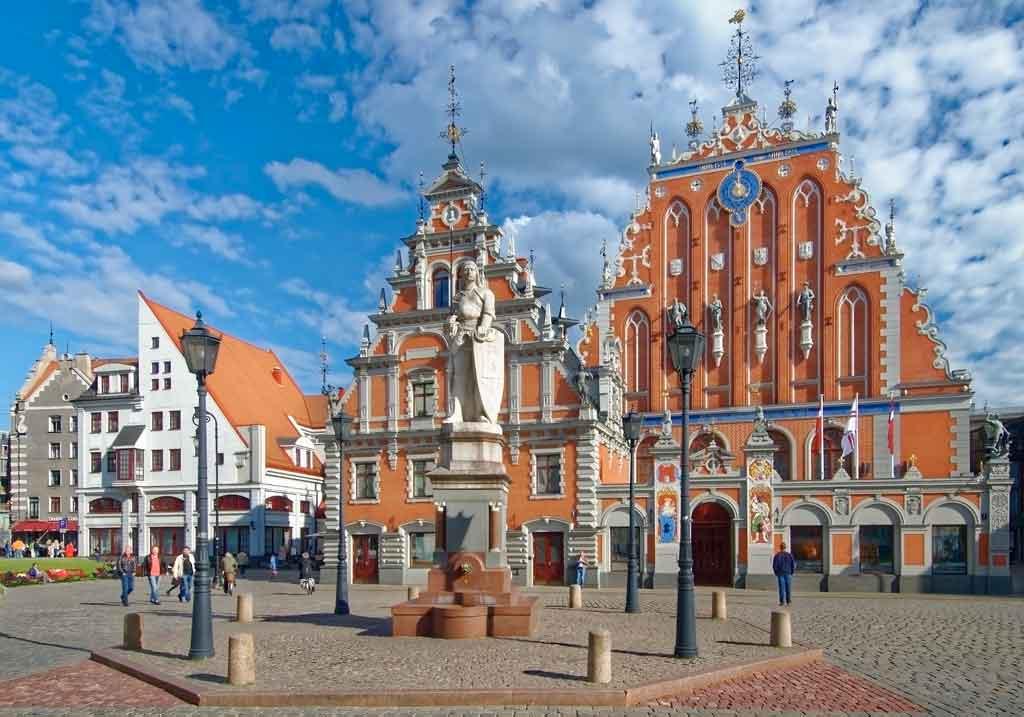 Riga, Letônia onde fica