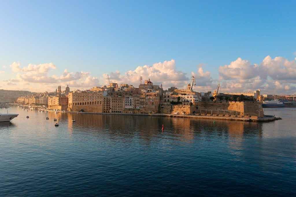Valleta Malta onde fica